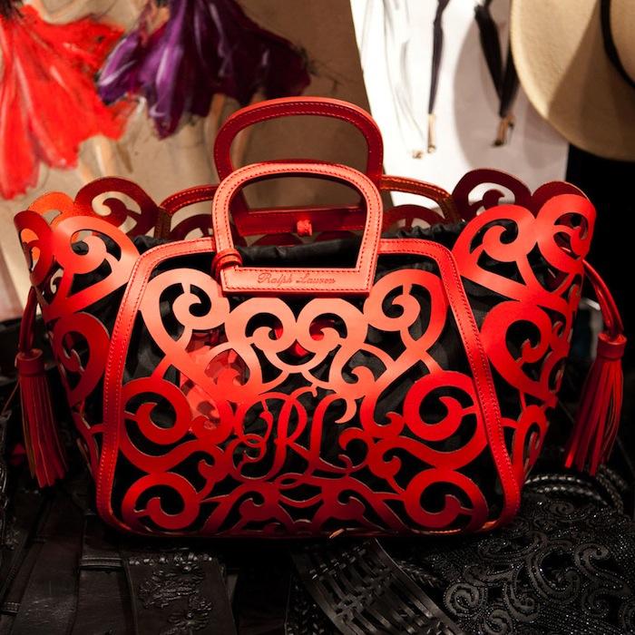Кожаная сумка с кружевом, вишневый, серая сумка, сумка из
