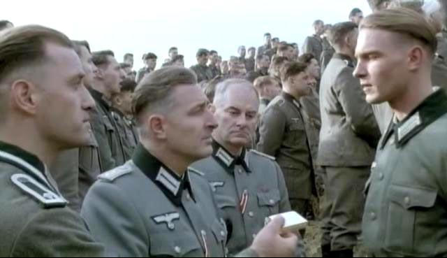 Стрижка немецкий офицер